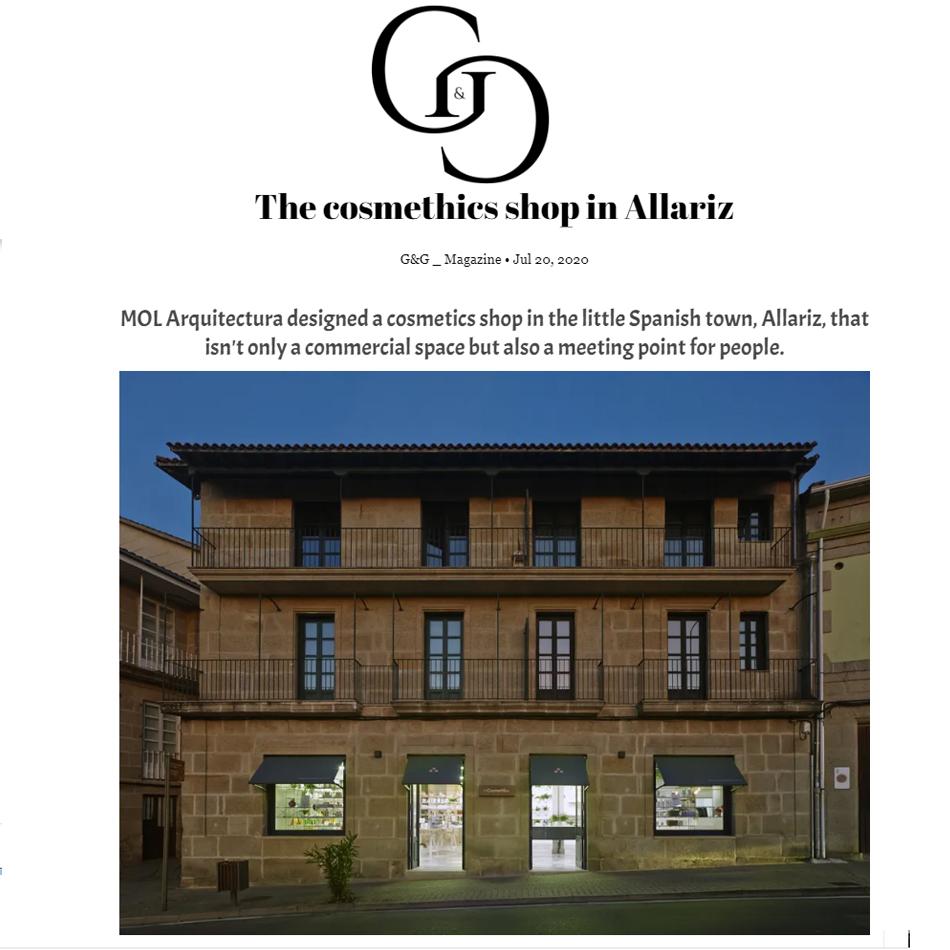 The Cosmethics de MOL Arquitectura en GandG Magazine